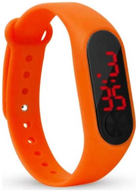 miss perfect Digital led Watch Band Type light digital band Digital Watch Set of  1