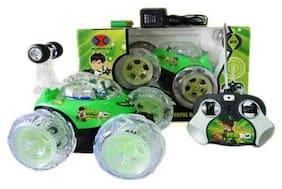 Mix Bag Green Rechargble Stunt Car
