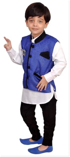 Kabeer Modi Jacket With Kurta Pajama For 5 Yrs Age (Size-5-6 years)