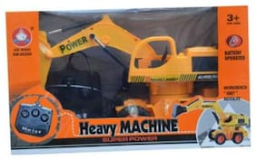 Monkey Kids R/C jcb toy heavy machine