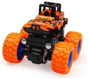 Shanaya Monster Trucks Friction Powered Cars for Kids, Toddler Toys Inertia Car Toys (Assorted)