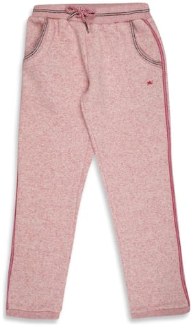 Monte Carlo Girl Wool blended Track pants - Red