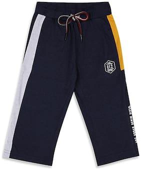Monte Carlo Boy Solid Shorts & 3/4ths - Blue