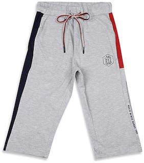 Monte Carlo Boy Solid Shorts & 3/4ths - Grey
