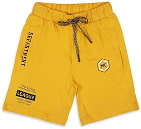 Monte Carlo Boy Printed Shorts & 3/4ths - Yellow
