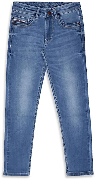 Monte Carlo Boy's Regular fit Jeans - Blue