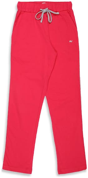 Monte Carlo Girl Cotton Track pants - Pink