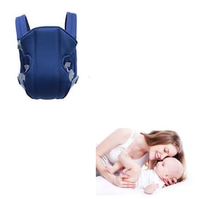 Mopi Fresh 3-in-1 Baby Carrier Bag with Comfortable Head Support - Multicolor Baby Carrier  (BLUE )