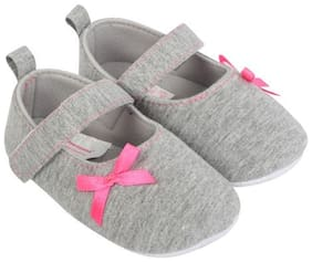 Grey Casual Shoes For Girls