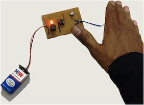 Morning Alarm  Ready to use Project Kit on Dotted/multipurpose PCB board