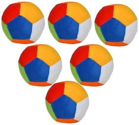MORPAN TOYS BALL SET OF SIX BALLS 40CM EACH ROUND BALL