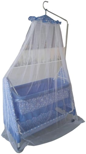 Mothertouch Blue Carry Cot