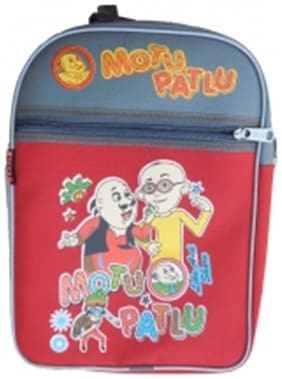 Indo Motu Patlu School Bag - Boy- Upto 8 Years (Snd0002Sty)