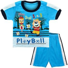 MOTUS Baby boy Top & bottom set - Blue