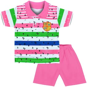 MOTUS Baby boy Top & bottom set - Pink