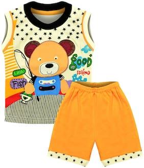 MOTUS Baby boy Top & bottom set - Yellow