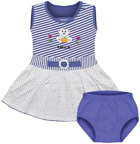 MOTUS Baby girl Top & bottom set - Blue