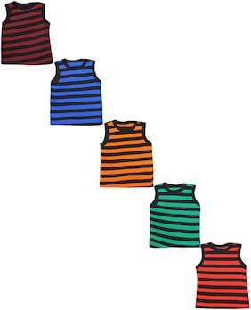 MRB Vest For Boys - Multi , Set of 5