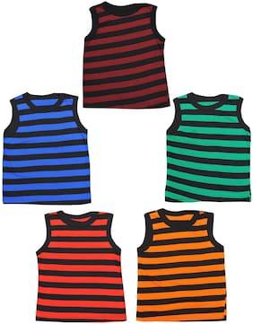 MRB Vest for Girls - Multi , Set of 5