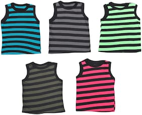 MRB Vest for Girls - Multi , Set of 5