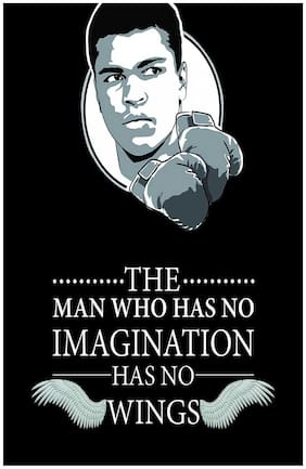 Muhammad Ali Motivational and Inspirational sticker for Room