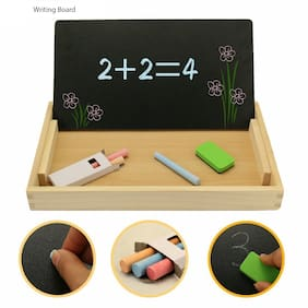 Multi Purpose Educational Learning Magnetic Wooden Board Puzzle Game ( Multi)