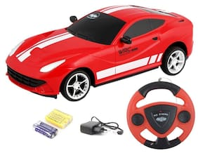 Multicolor Jackmean Remote Controlled Rechargeable Car (colour may vary)