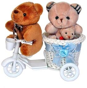 Brown Teddy Bear - 12 cm