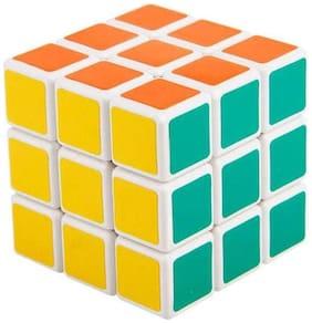 Multicolour Plastic Cube (PACK OF 2)