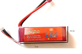 Multipurpose 3.7V 2200Mah lithium battery for RC drone helicopter and RC toys
