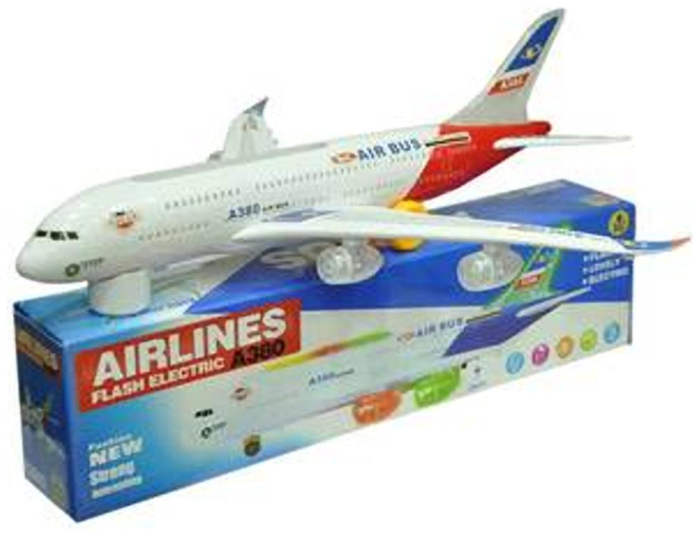 Musical Airbus A380 Aeroplane Kids Toy