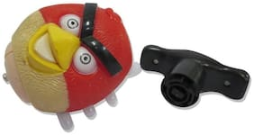 MUSICAL ANGRY BIRD LED LIGHTING SPINNING TOP TOYS (G&S TRADERS)