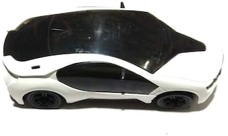 Musical Car Nawani 3D LED Light Car Directional Musical Fun Car ( Colors May Vary), Size- 19/8 cm