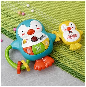 Musical toys for kids with Battery Operated Playing and Learning Colorful Musical Penguin Shape Toy