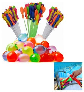 Must Have Holi Magic Non-toxic Water Balloons (Multicolour) -Pack of 111 Just Fill in 60 Seconds