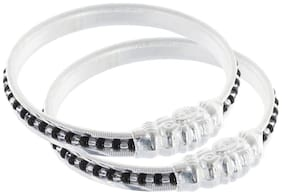 MY DT Lifestyle Silver Unisex Kids Bangle (SJKB21)
