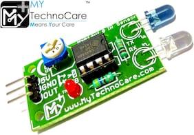 MY TechnoCare IR Sensor Infrared / IR Infrared Proximity sensor Module board | Line following Robot sensor for Arduino Uno;AVR;8051;PIC ARM Microcontroller Electronics Project