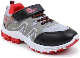 Myau Grey Girls Casual Shoes