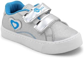 Myau Silver Casual Shoes For Girls