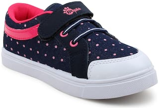 Myau Pink Casual Shoes For Girls
