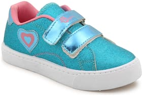 Myau Blue Girls Casual Shoes