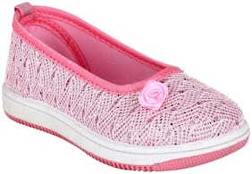 Myau Pink Girls Casual Shoes