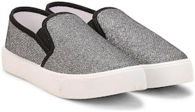 Fuel Black Casual Shoes For Girls