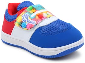 Myau Red Casual Shoes For Girls