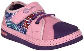 Myau Purple Girls Casual Shoes