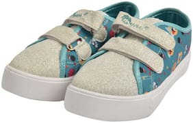 Myau Green Casual Shoes For Girls
