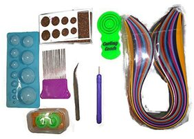 Naarilok Complete Quilling Kit With 1000 Strips And 8 Tools