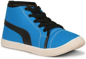 Namchee Blue Canvas shoes for boys