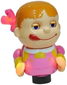 Naughty Crawling musical Baby Girl for kids