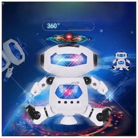Naughty Dancing Robot Kids Toy With Light & Music.